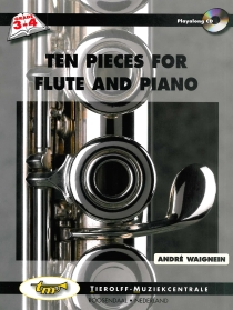 Ten Pieces For Flute And Piano