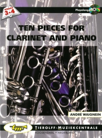 Ten Pieces For Clarinet And Piano