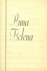 Cavatine d'Anna Bolena - Opéra de Donizetti