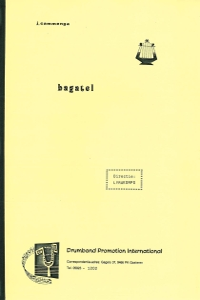 Bagatel, Lyrakorps