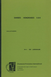 Danses Hongroises 5 & 6, Malletband