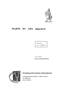 Music On the Square Bes/Es