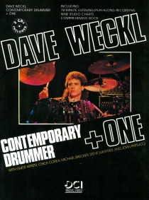 Contemporary Drummer + One, incl. 2 cd's. 36 Pagina's