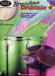 Brazilian Coordination For Drumset, incl. cd. 80 Pagina's