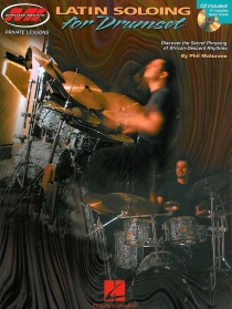 Latin Soloing For Drumset, incl. cd. 60 Pagina's
