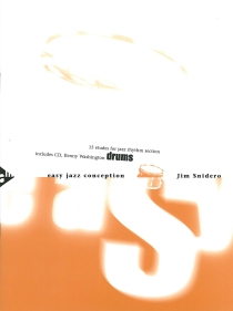 Easy Jazz Conception, incl. cd. 38 Pagina's