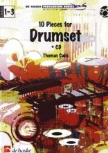 10 Pieces For Drumset, incl. cd 22 Pagina's