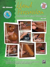 All About Hand Percussion, incl. cd. 40 Pagina's