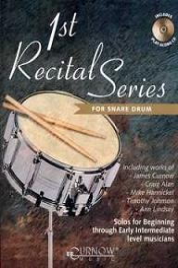 1st Recital Series - Snare Drum, incl. cd