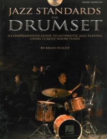 Jazz Standards For Drumset, incl. cd. 86 Pagina's