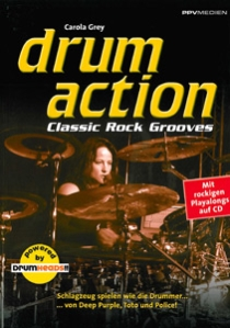 Drum Action - Classic Rock Grooves, incl. cd