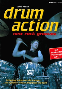 Drum Action - New Rock Grooves, incl. cd