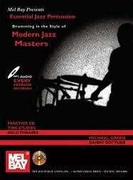 Essential Jazz Percussion   Drumming In The Style Of Modern Jazz Masters, incl. 66 Pagina's