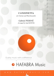 Canzonetta, for Clarinet and Concert Band