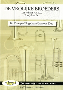 The Jolly Brothers, Duet for 2 Bb Trompets/Flugelhorns/Baritones & Piano
