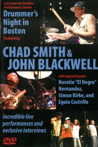 Drummer's Night in Boston: Chad Smith & John Blackwell