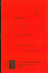 Alouette, Drumfanfare