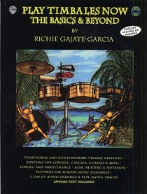 Play Timbales Now, incl. 2 cd's.