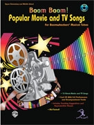 Boom Boom! Popular Movies and TV Songs, incl. cd