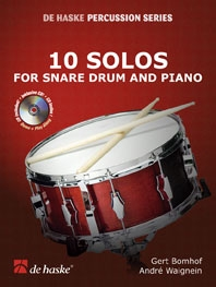 10 Solos For Snare Drum and Piano, incl. cd