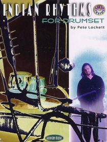 Indian Rhythms For Drumset, incl. cd.