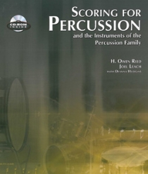 Scoring For Percussion, incl. cd-rom (2010 Edition)