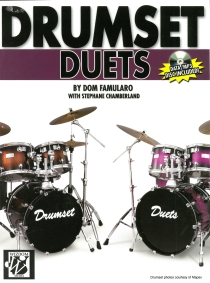 Drumset Duets, incl. mp3cd