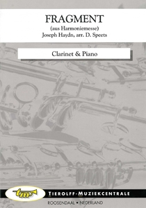 Excerpt from the Harmonie-Messe (Wind Band Mass), Clarinet & Piano