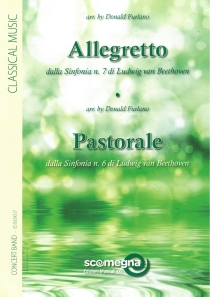 Allegretto From Symphony N. 7/Pastorale From Symphony N. 6, Blasorchester