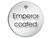 """Remo 13"""" Emperor ruw wit tom/ snarevel BE-0113-00"""