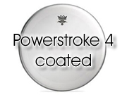 """Remo 10"""" powerstroke 4 - ruw wit tomvel - dubbellaags P4-0110-BP"""
