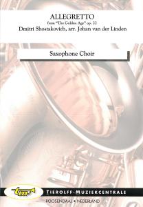 "Allegretto - de ""The Golden Age"", Ensemble de Saxophones"