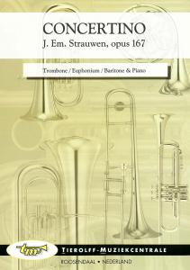 Concertino -Opus 167, Trombone/Euphonium/Petite Basse & Piano