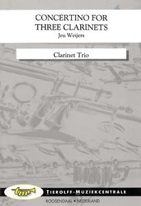 Concertino For 3 Klarinets, Clarinette Trio