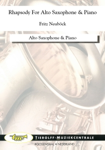 Rhapsody For Alto Saxophone & Piano, Altsaxofoon & Piano