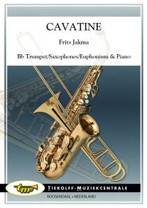Cavatine, Bb Trumpet/Saxophones/Euphonium & Piano