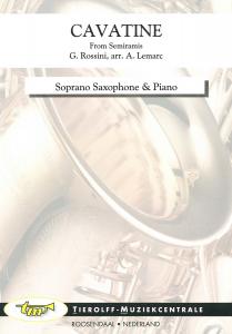 Cavatine (from Semiramis), Soprano Saxophone & Piano