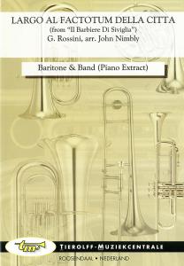Largo Al Factotum, Euphonium/Petite Basse & Band (Extrait de piano)