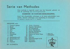 Serie Van Methodes/Serie of Methods
