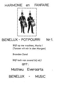 Benelux-Potpourri Nr. 1