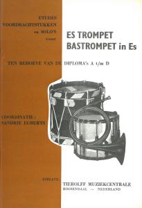 Etudes Voordrachtstukken en Solo's (Bas)Trompet in Es