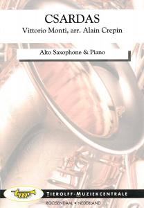 Csárdás, Saxophone Alto  & Piano