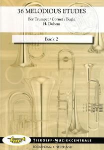 36 Melodious Etudes For Trumpet-Cornet-Flugelhorn Book 2