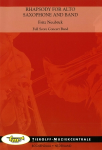 Rhapsody For Alto Saxophone And Band