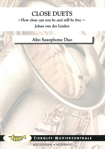 """Close Duets """"How Close Can You Be And Still Be Free"""", Alto Saxophone Duet"""