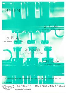 24 Etudes for Trumpet - Cornet - Bugle (Flugelhorn)