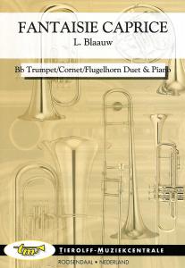 Fantaisie Caprice, Bb Trompet/Cornet/Bugel Duet & Piano