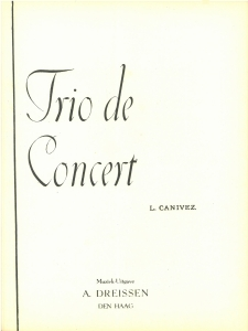 Trio De Concert
