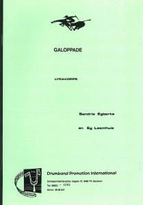 Galoppade, Lyrakorps