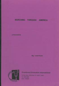 Marching Through America, Lyrakorps